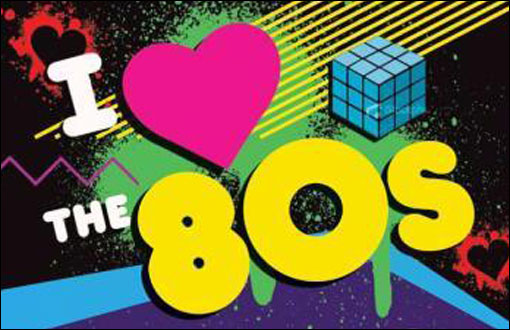 I Love 80s Background A Look at '80s does ...