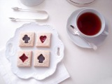 Recipe: Jam Filled Playing Card Cookies