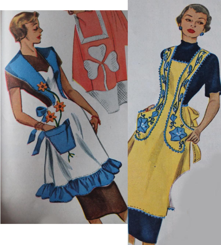 Vintage Hostess Apron