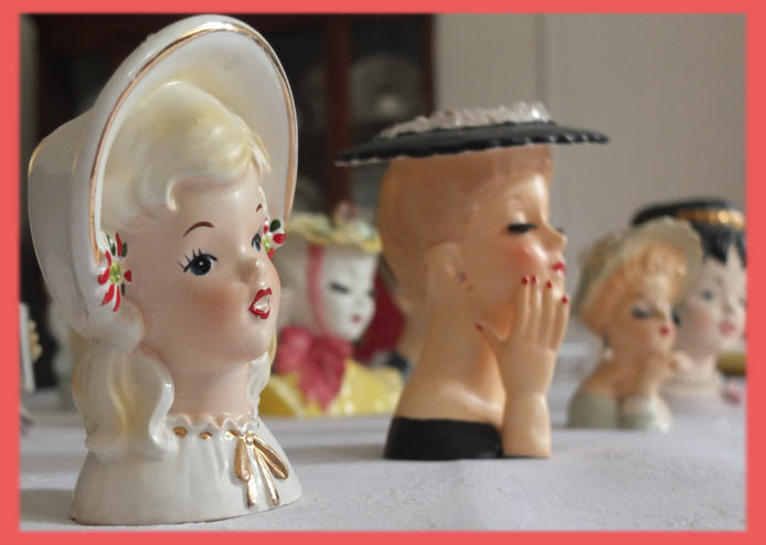 Oh For The Love Ofdy Head Vases Oh For The Love Of Vintage
