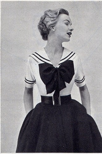 Sailor Blouse Pattern