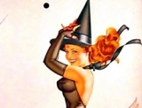 Witchy, Witchy Women – A Look at Hallowe'en Pinups!